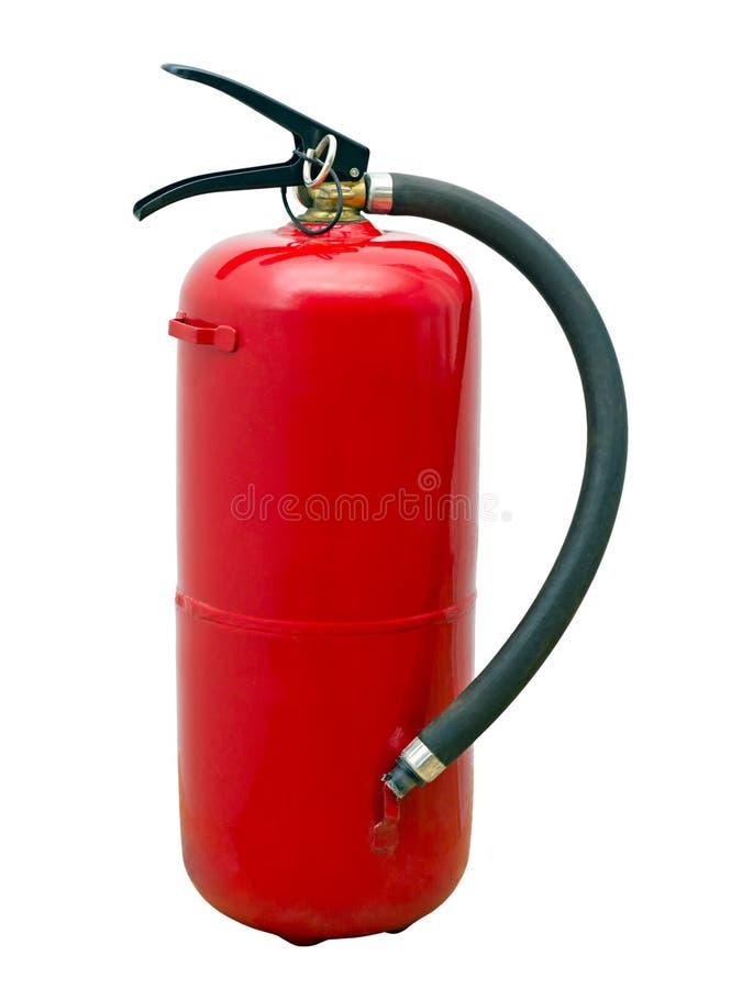 красный цвет пожара гасителя стоковые фото