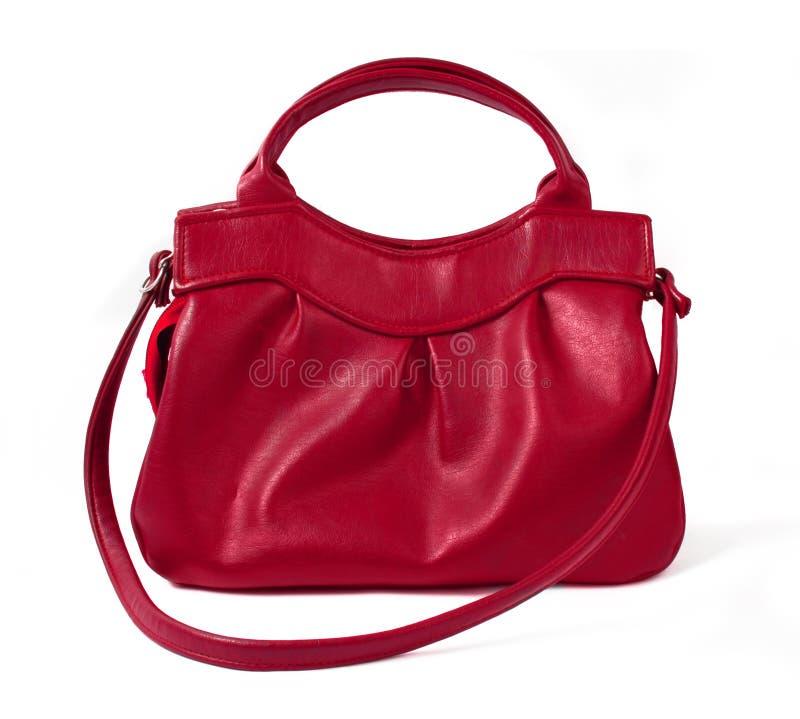 красный цвет портмона стоковое изображение