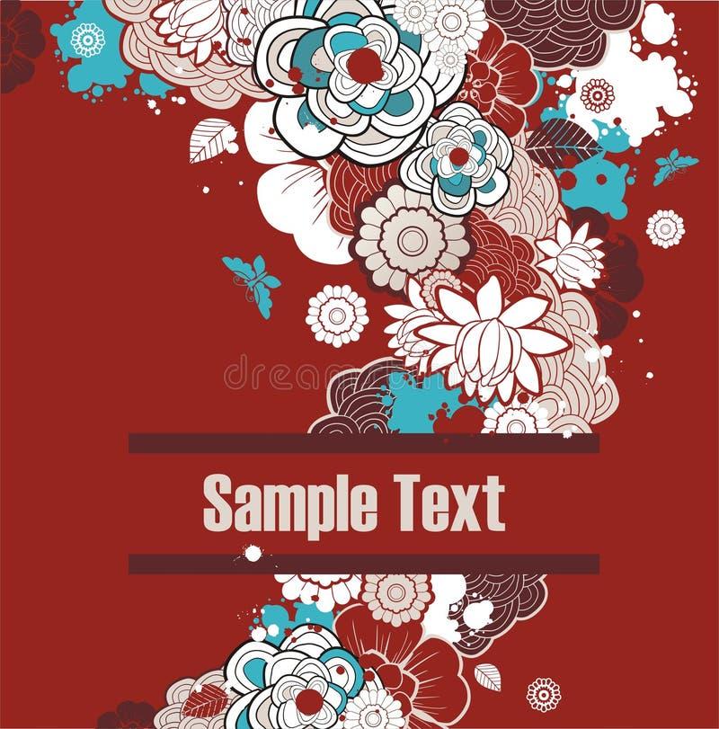 красный цвет предпосылки флористический бесплатная иллюстрация
