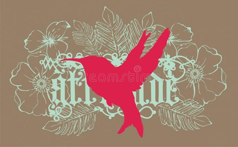 красный цвет птицы