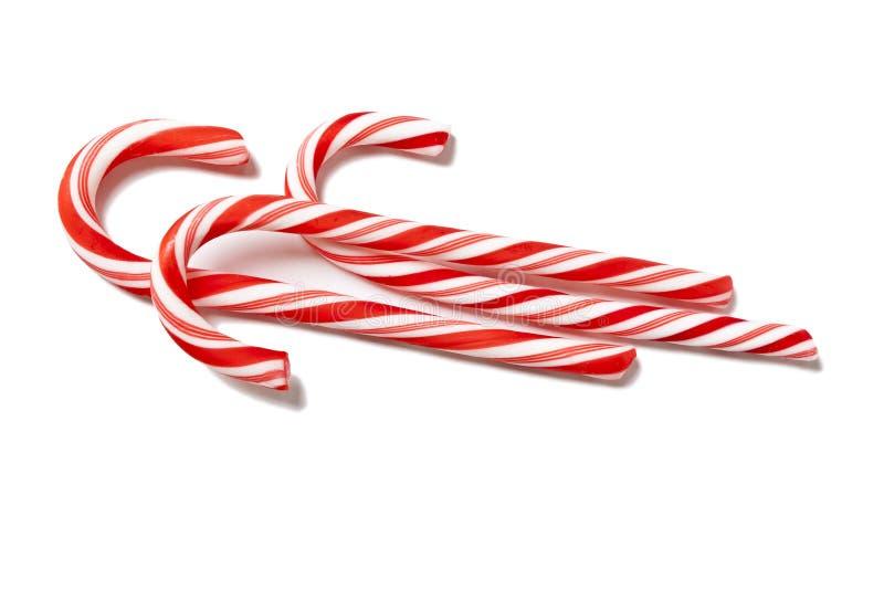 красный цвет рождества конфеты стоковое изображение rf