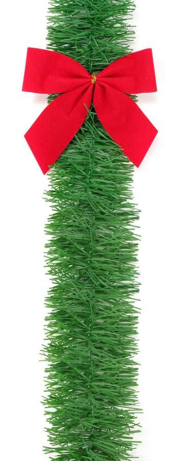 красный цвет рождества смычка стоковое фото rf
