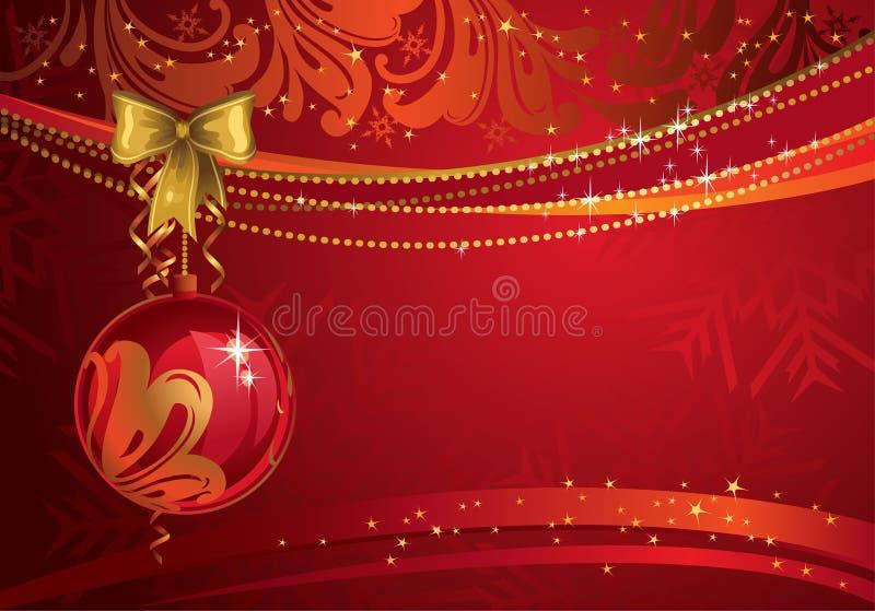 красный цвет рождества фона бесплатная иллюстрация