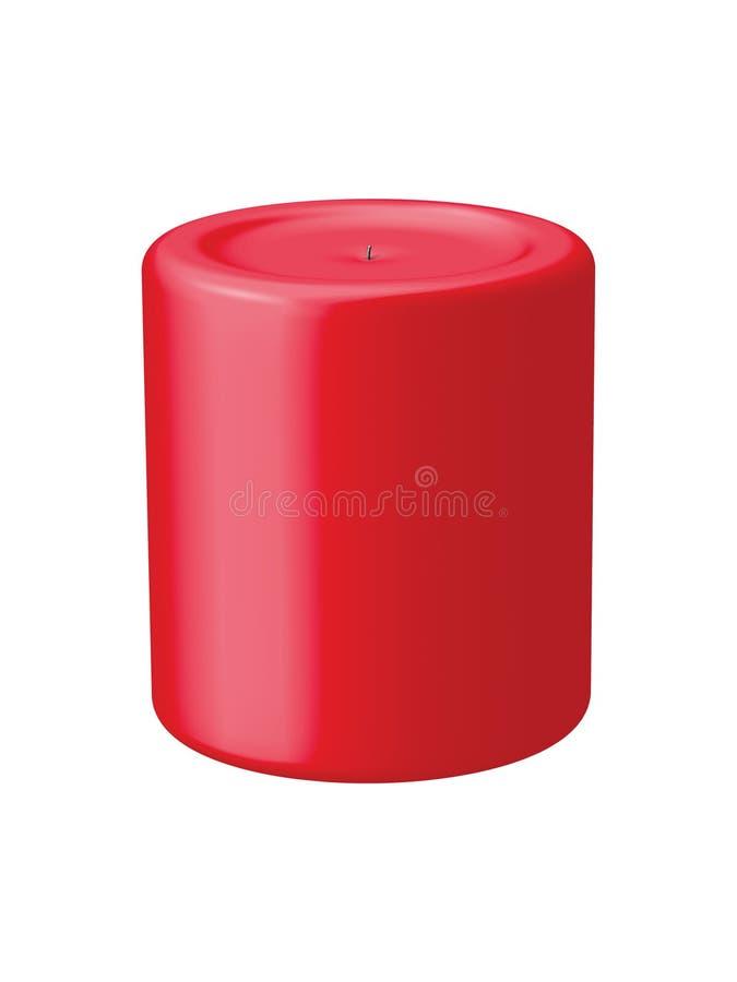 красный цвет свечки бесплатная иллюстрация