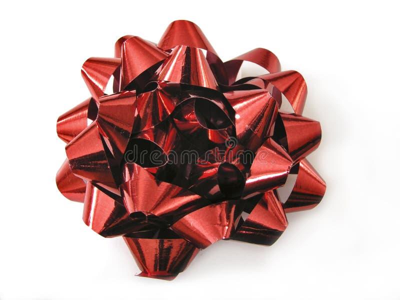 Download красный цвет смычка стоковое изображение. изображение насчитывающей украшение - 76425