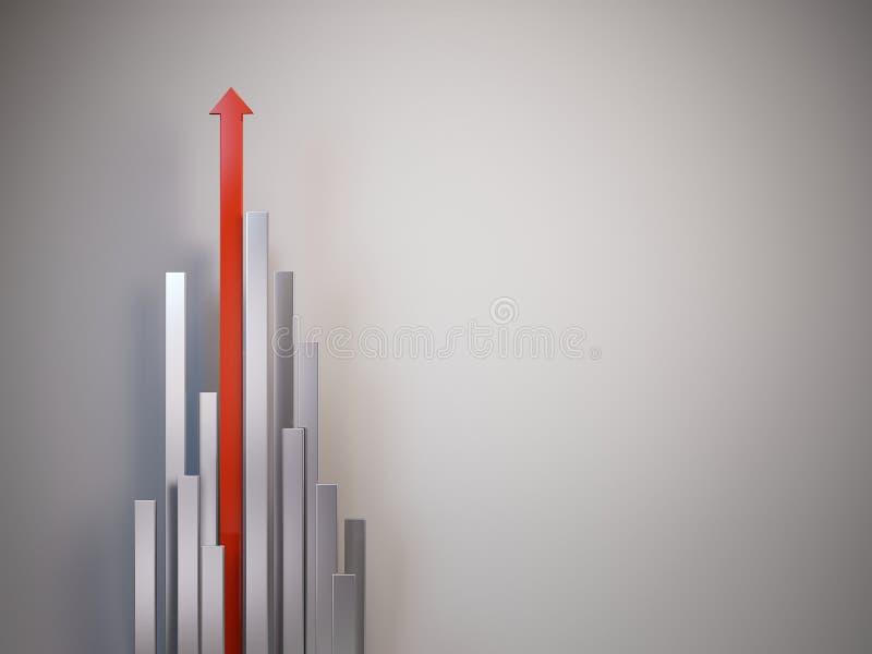 красный цвет стрелки вверх бесплатная иллюстрация