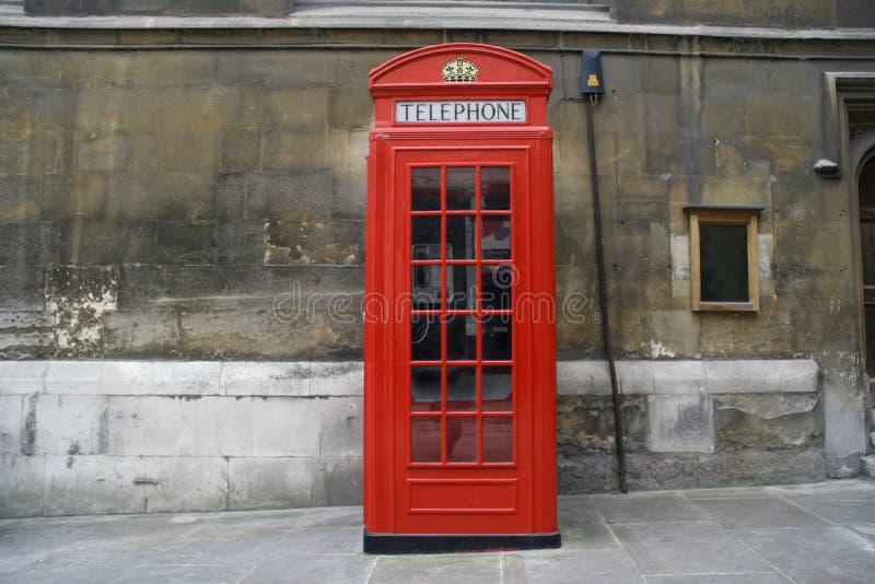 красный цвет телефона стоковое фото rf