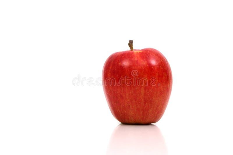 красный цвет яблока очень стоковые изображения