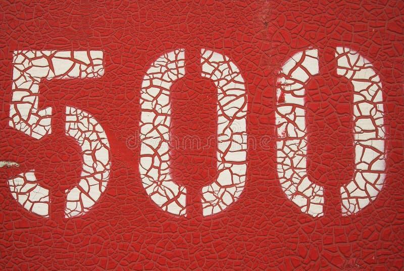 красный цвет 500 стоковые фотографии rf