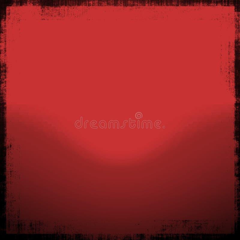 красный цвет Grunge Стоковые Изображения RF