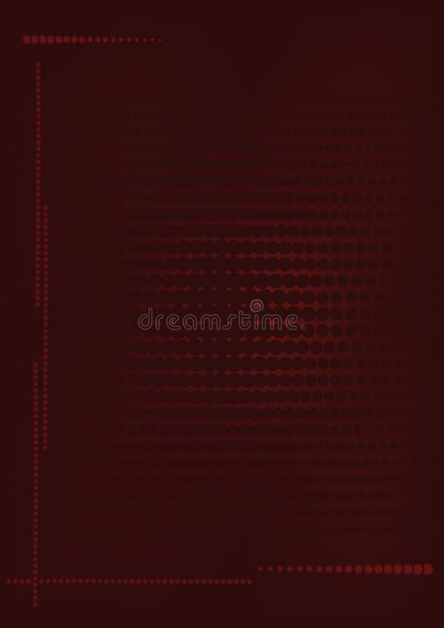 красный цвет halftone влияния предпосылки бесплатная иллюстрация