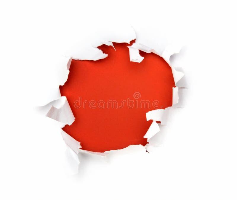красный цвет hote бумажный стоковые изображения