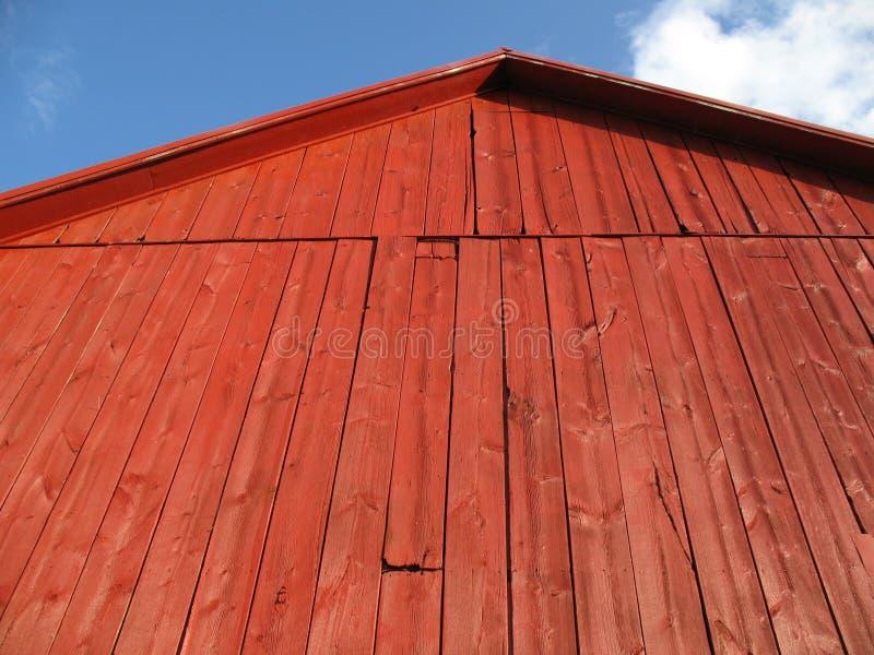 красный цвет PA lancaster амбара стоковые фотографии rf