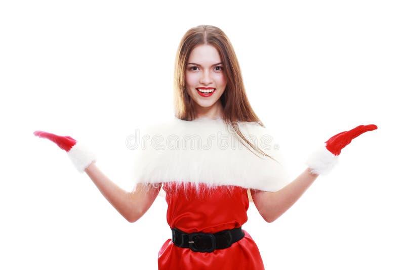 красный цвет santa шлема claus стоковые изображения