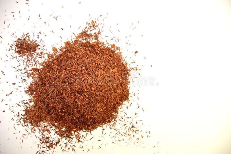 Красный чай - взгляд сверху стоковые фото