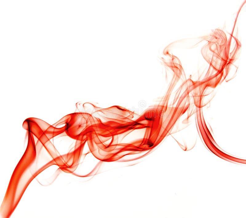 красный дым стоковые изображения rf