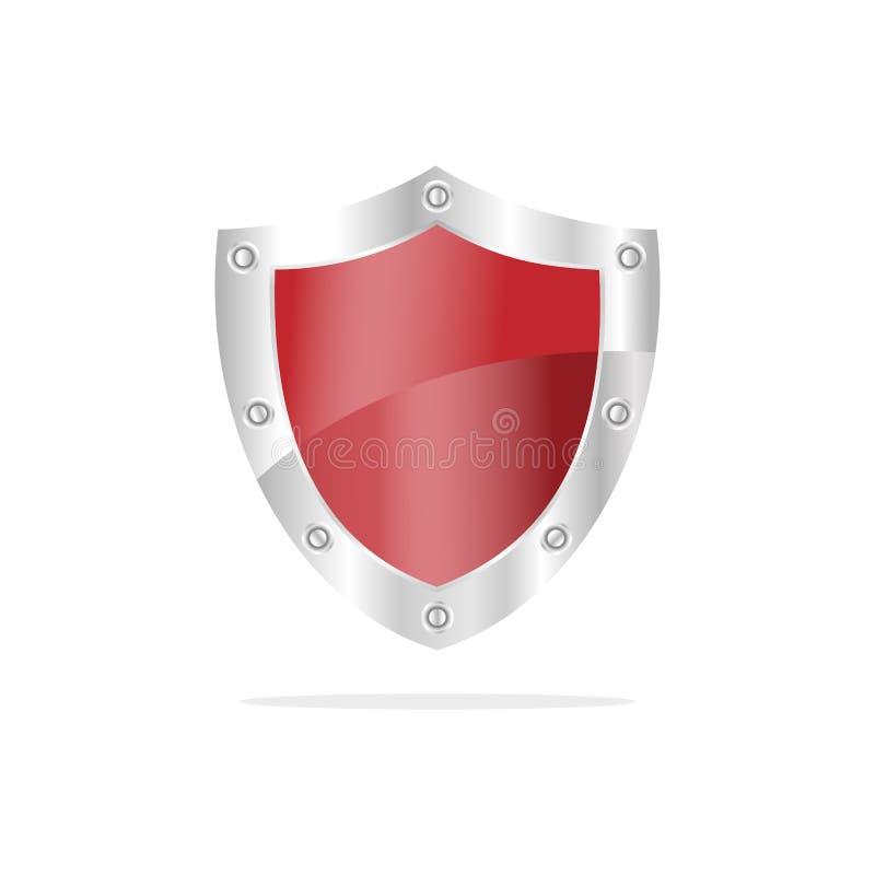 красный экран безопасностью 3D бесплатная иллюстрация