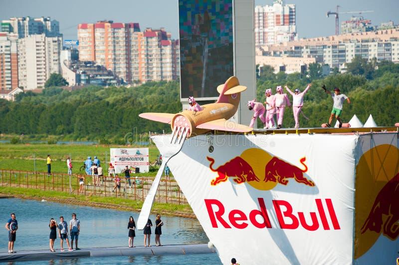 Красный Bull Flugtag 2015 стоковые фотографии rf
