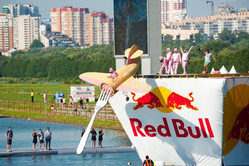 Красный Bull Flugtag 2015 стоковые изображения