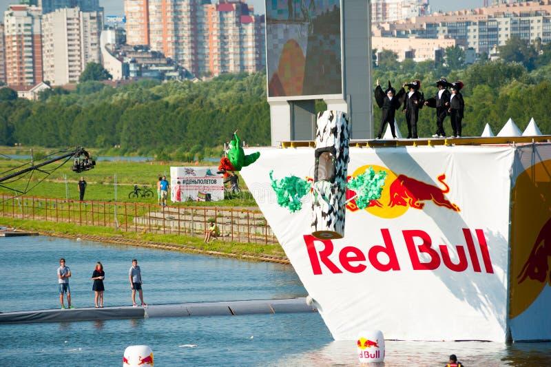 Красный Bull Flugtag 2015 стоковое фото rf
