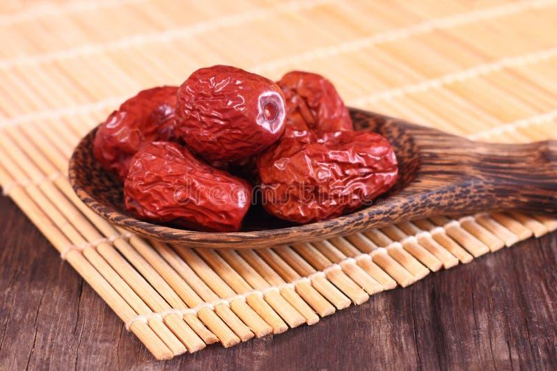 Красный jujube стоковые фото