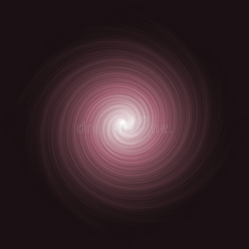 красный twirl космоса бесплатная иллюстрация
