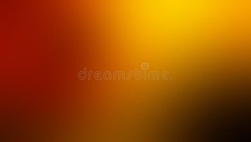 Красным желтым и черным ярким затеняемые цветом обои предпосылки нерезкости иллюстрация штока