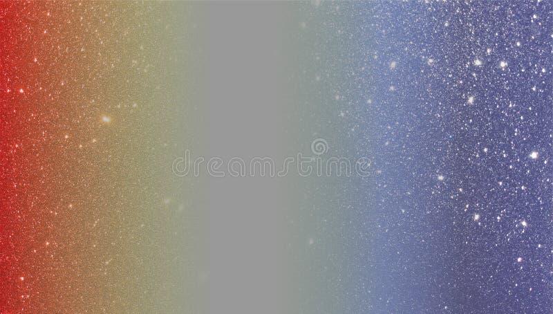 Красным и голубым предпосылка текстурированная ярким блеском r стоковое фото rf