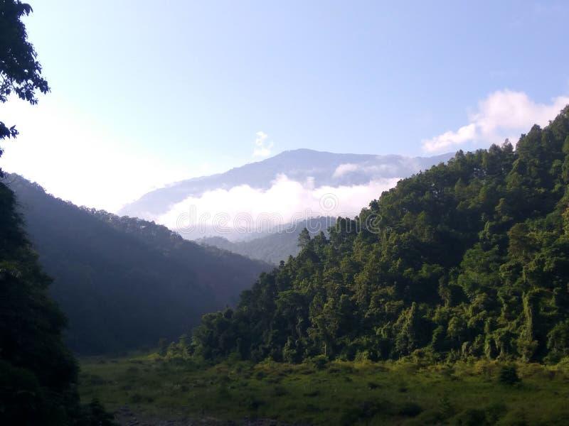 Красота горы стоковое изображение rf