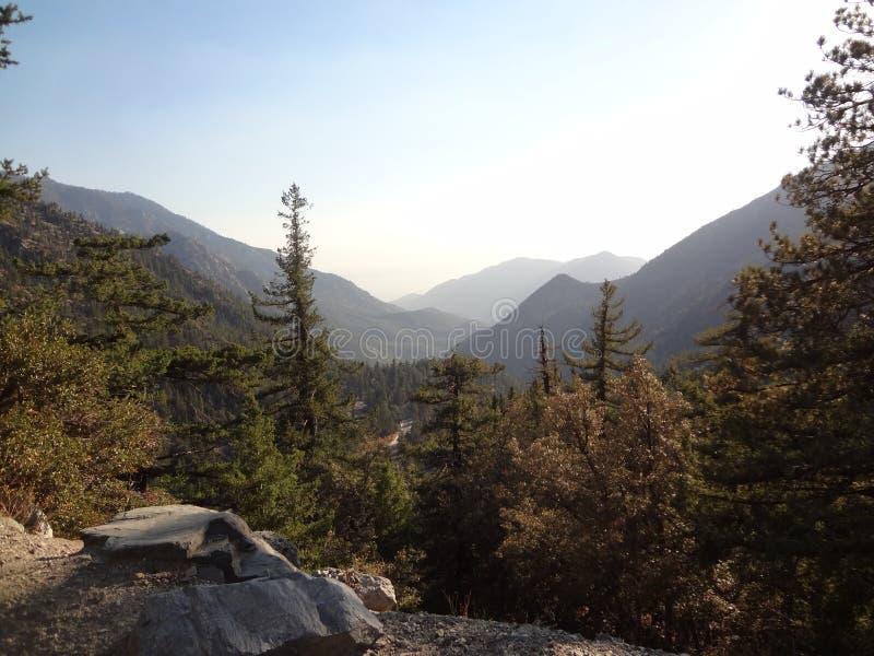 Красота 01 горы Mt Baldy внешняя стоковое фото