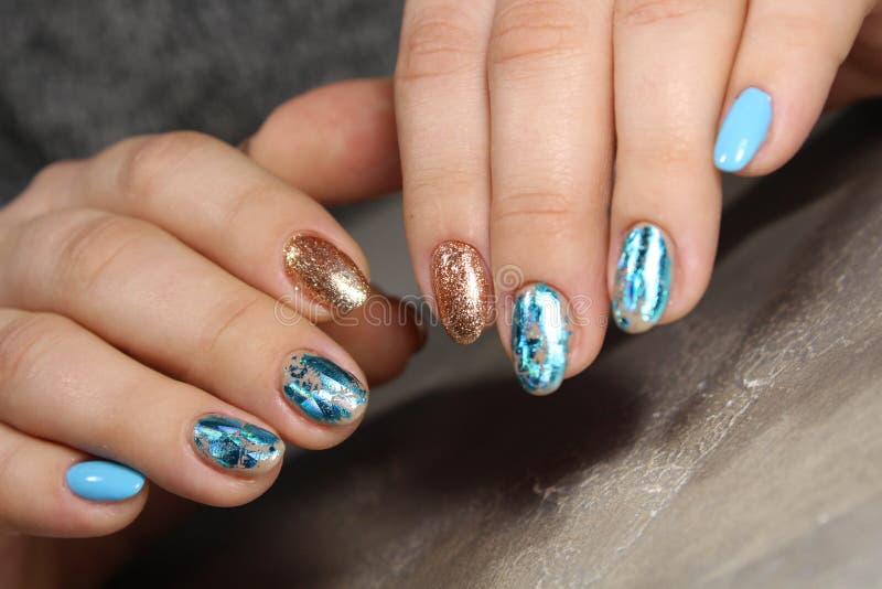 Красота естественных ногтей стоковая фотография