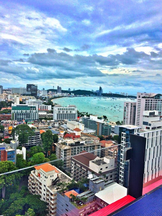 Красота залива Сиама стоковое фото rf