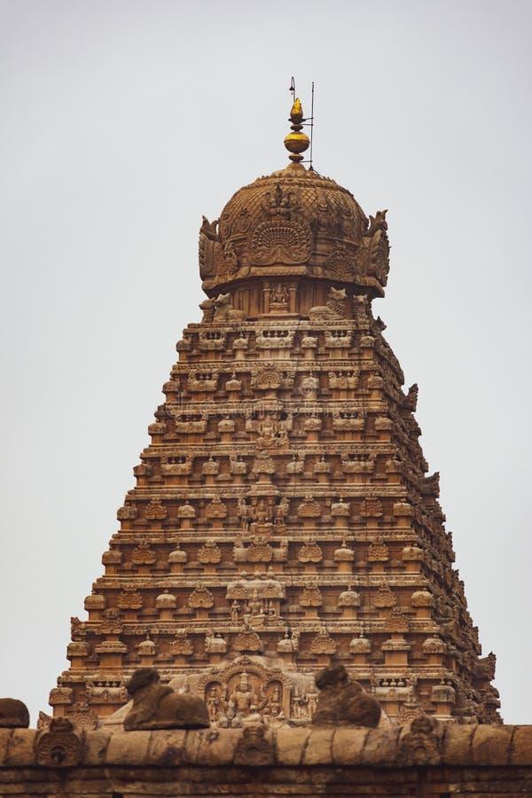 Красота индийской башни виска стоковое изображение