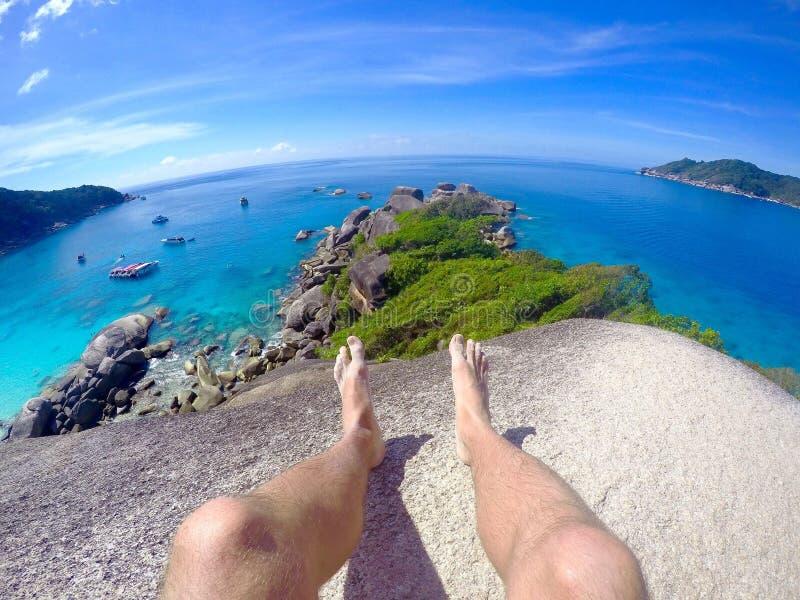 Красота островов Similan, Таиланда, море Andaman, стоковые фото
