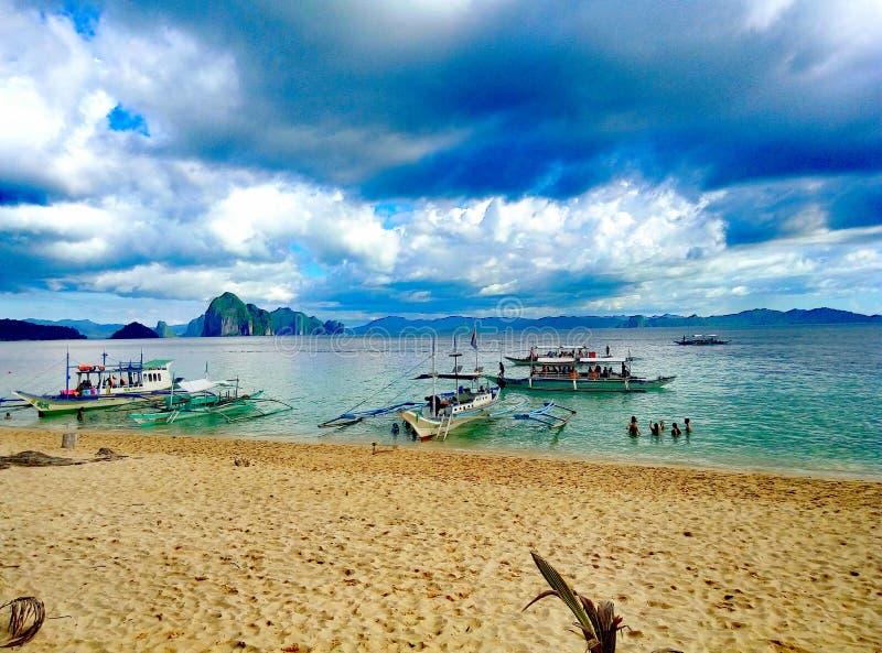 Красота пляжа стоковое фото rf