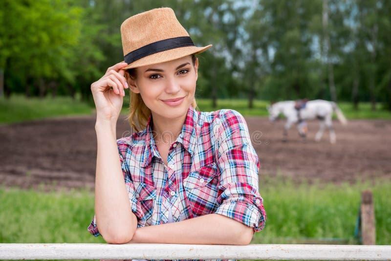 Красота ранчо стоковое изображение rf