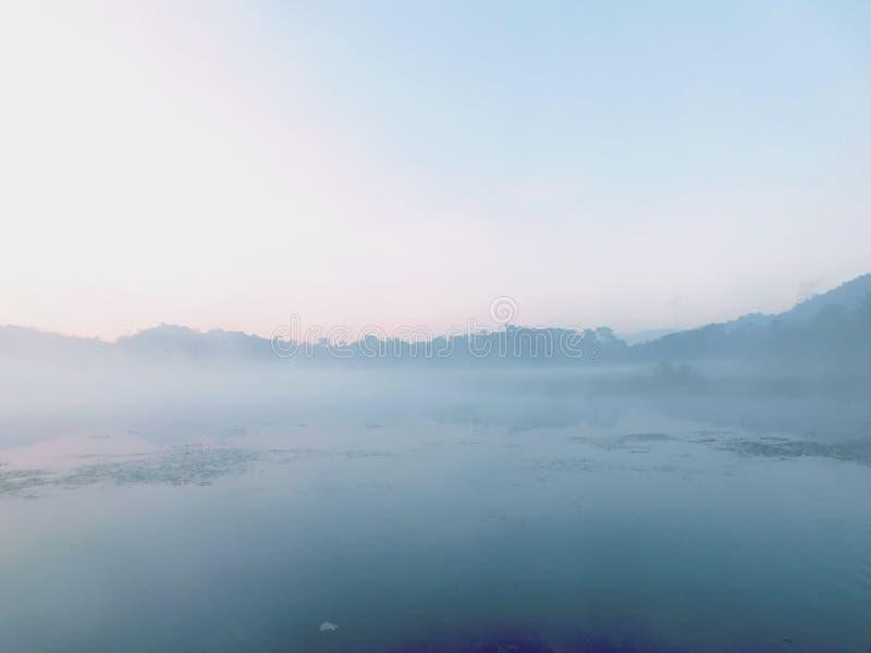 Красота реки Бандунга стоковое фото rf