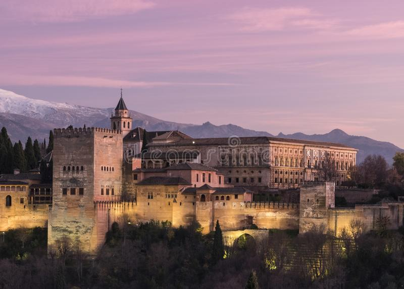 Красота самоцвета Гранады стоковое фото rf