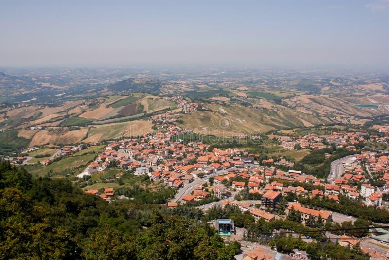 Красота Сан-Марино стоковое фото