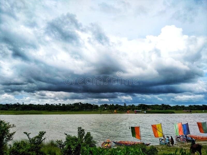 Красота университета Бангладеша аграрного стоковые изображения rf