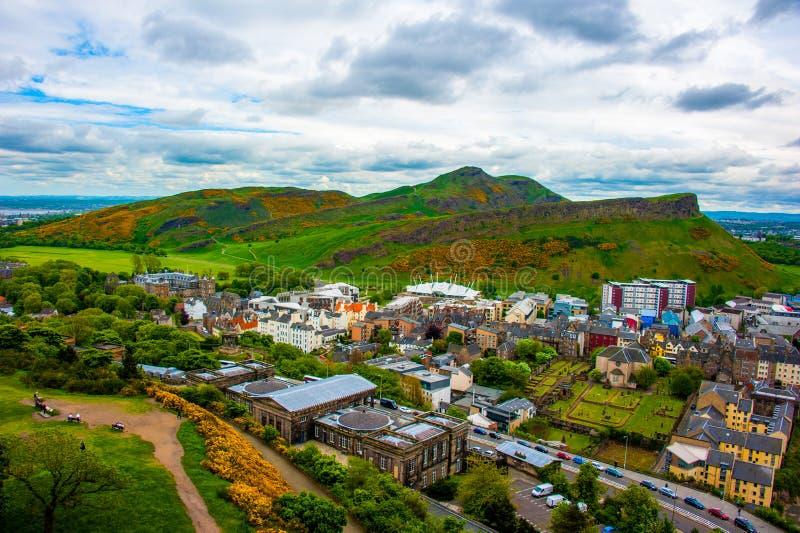 Красота Эдинбурга на осени стоковые изображения rf