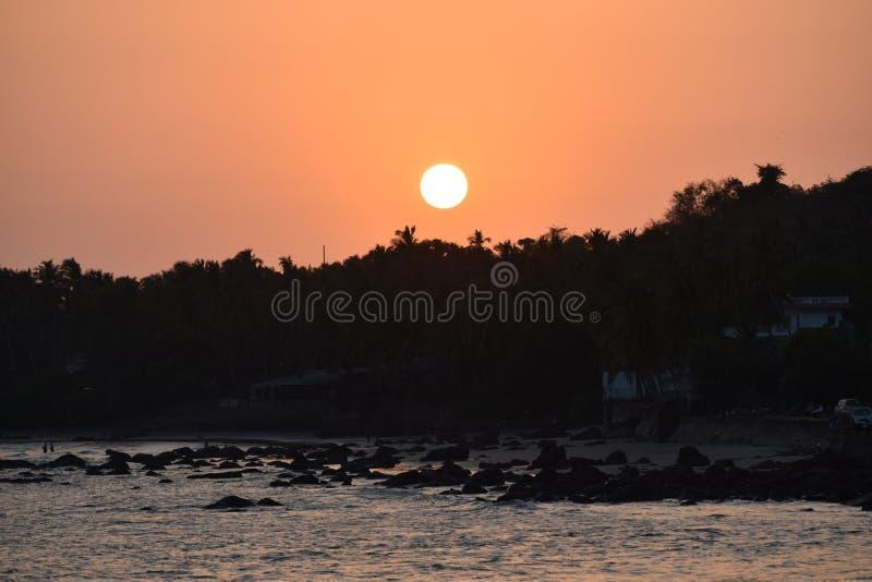 Красота Goa стоковое изображение