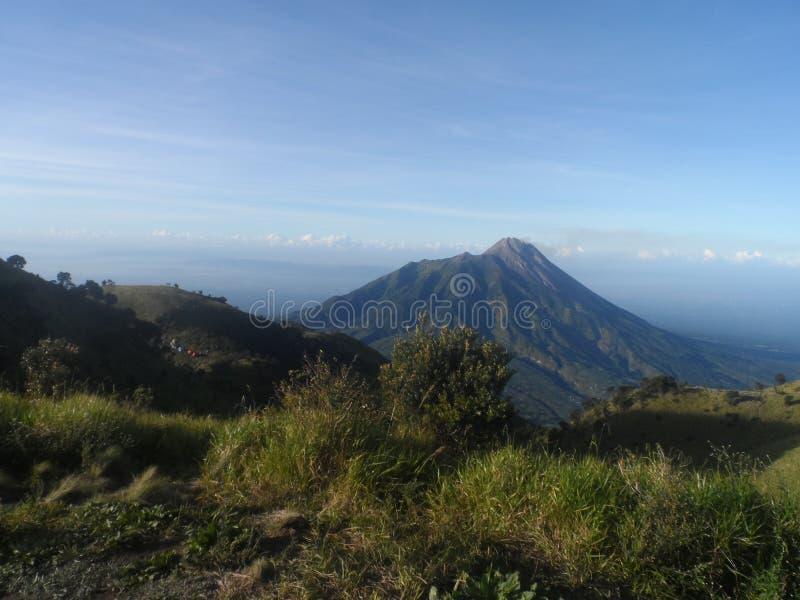 Красота Merapi стоковые изображения rf