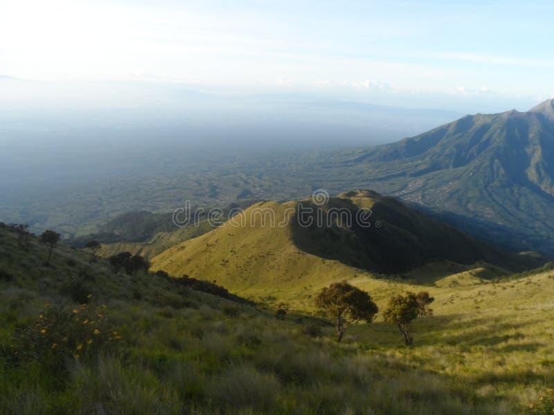 Красота Merbabu стоковое изображение rf