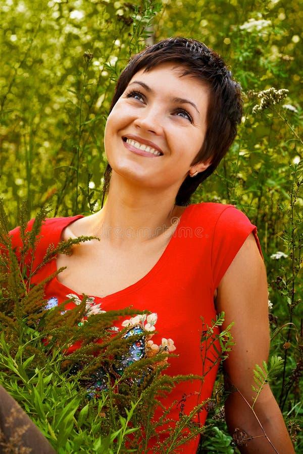 красотка естественная стоковая фотография rf