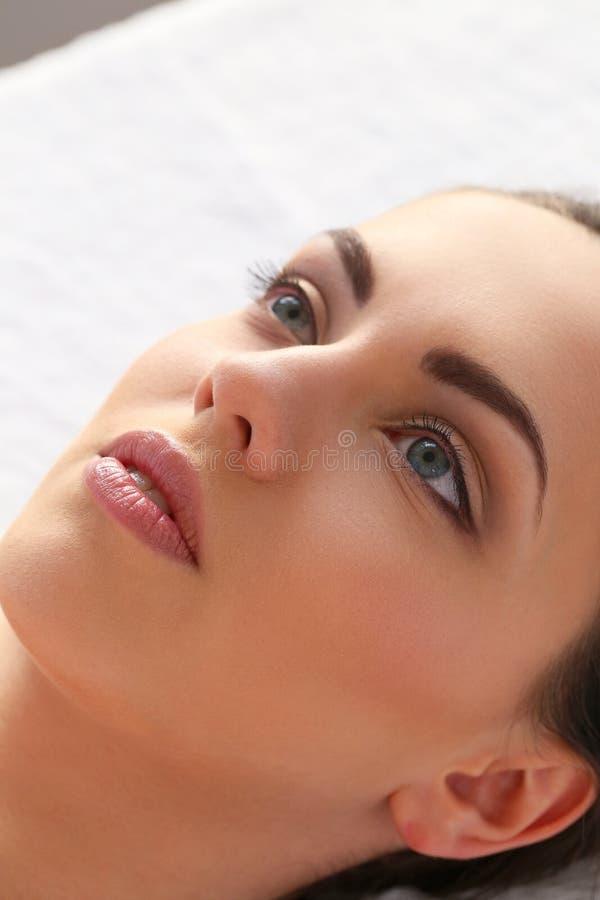 Красотка и спа стоковое изображение