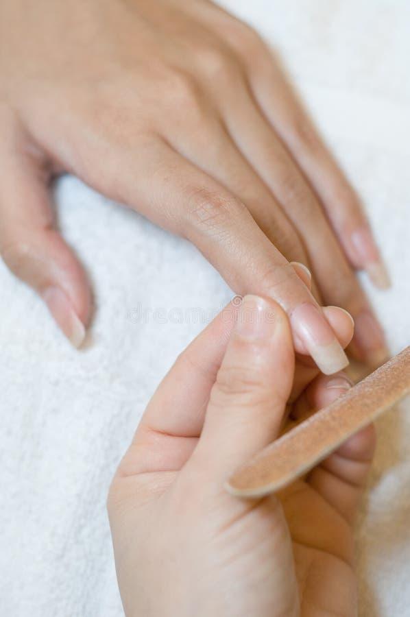 Красотка ногтя стоковое фото rf