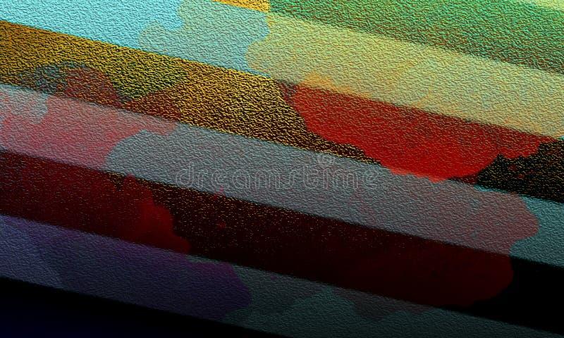 Красочная абстрактная геометрическая предпосылка Современная концепция формы стоковые фото