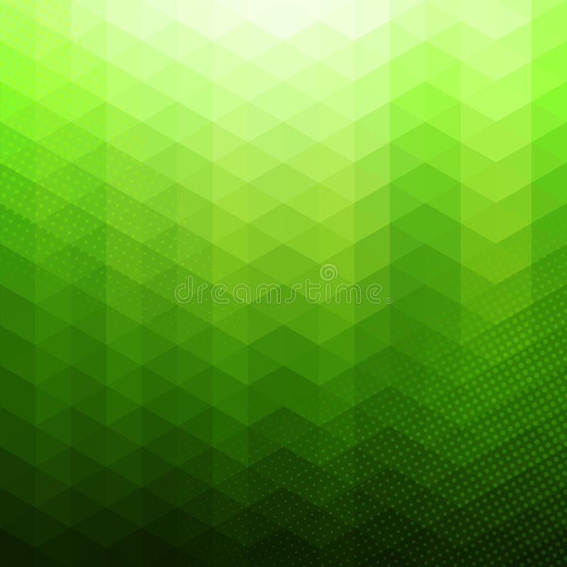 Красочная абстрактная геометрическая предпосылка вектора бесплатная иллюстрация