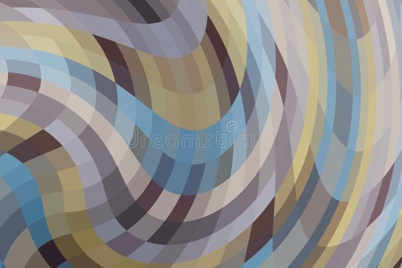 красочная абстрактная предпосылка для настольного дизайна обоев или вебсайта, шаблона с космосом экземпляра для текста : иллюстрация вектора